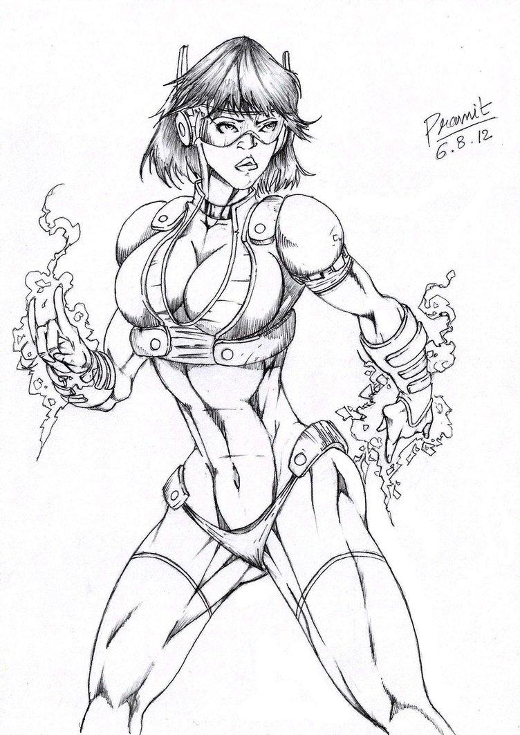 scarlet witch marvel mangaverse by Pramit
