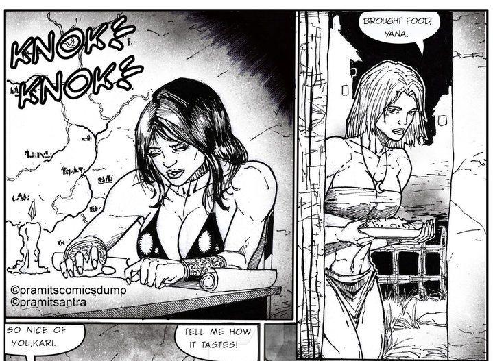 Lady Warriors pg.8a by Pramit