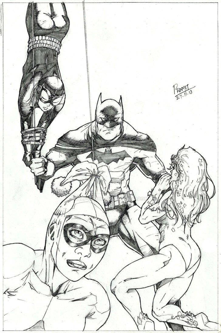 Batman, aka Spankman by Pramit